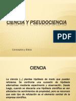 Clase5.4 Ciencia Pseudociencia y Biblia