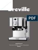 Breville Caferoma Instructions Manual