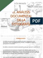 Analisis Documental de La Fotografia