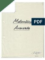 Matematica Avanzada -Lic.huacha Quiroz