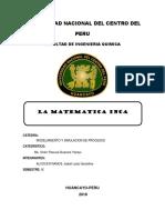 modelos matematicos incas