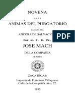 Novena Antigua Libro