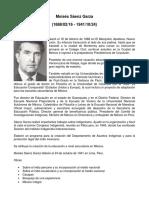 Moisés Sáenz Garza