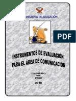 Instrumentos de Evaluación