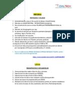 Informacion de Los Programass