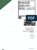 907-Farrington, Benjamin - Francis Bacon Filósofo de La Revolución Industrial