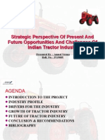 Tractor Industry Present and Future