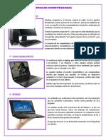 Tipos de Computadoras