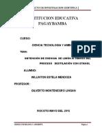 PROYECTO DE INVESTIGACIÓN INSTITUCION EDUCATIVA PAGAYBAMBA.doc