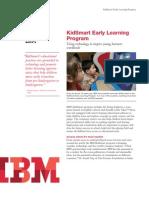 IBM KidSmart Early Learning Program