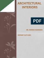 Architectural Interiors (Ar Dennis Mariano)
