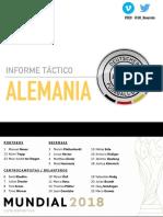 Informe Táctico |Alemania