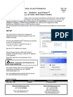 DSEWebNet Installation Instructions