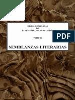 Semblanzas literarias