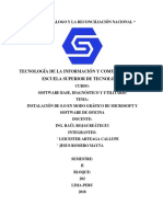 Lab2 Instala Un Sistema Operativo en Modo Grafico de Microsoft y Software de Oficina