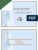 EL INDOEUROPEO
