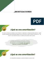 AMORTIZACIONES. conceptos