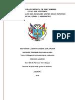Catalogo de Instrumentos de Evaluacion