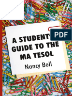 A Student's Guide to the MA TESOL-Palgrave Macmillan UK (2009)