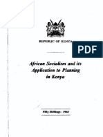 African socialism and its application to planning - Rupublic of Kenya.pdf