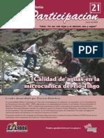 boletin21 Calidad de agua en la cuenca rio tingo