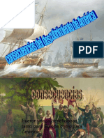 consecuencias de descubrimiento de america