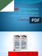 OJO ROJO y Emergencias Oftalmológicas.pptx