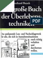 Das Grosse Buch Der Ueberlebenstechniken