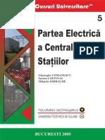 Partea Electrica a Centralelor si Statiilor - G. Comanescu s.a.- Curs