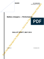 Battery Chargers - Performance