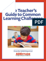 The Teachers Guide to Common Learning Challenges