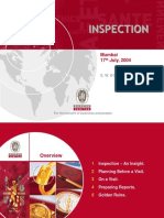 Various Aspects of Inspection