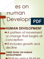 Issues on Human Development