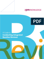 APM a Guide to Conducting Integrated Baseline Reviews