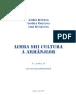 Limba shi cultura a Armanjlor - Ti Clasa VI