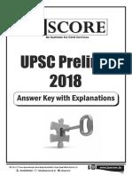 Upsc Pt Answer Key 2018