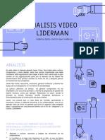 Analisis Del Video LIDERMAN