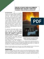 Plan de Acción en 10 Pasos para un Combate de Incendio Interior más Seguro y Efectivo