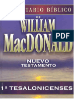 1ª Tesalonicenses C.B. de W. McDonald