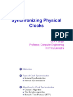 Aks Synchronizing Physical Clocks 1 1