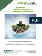 Datenblatt Greenrock V03 Eng