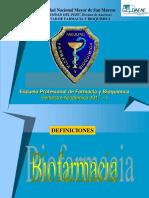 Definiciones BF-PK 2018