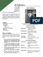 Iván Antónovich Yefrémov - Wikipedia, la enciclopedia libre