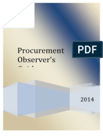 Philippines Gpr a Procurement Observers Guide 2014