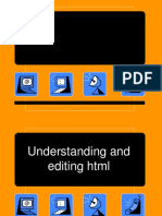 Lesson 5 - Learning and Editing HTML(1)