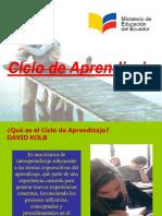 Ciclo del Aprendizaje