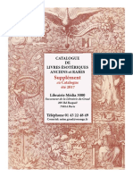 Supplement Couleur Catalogue Livres Anciens Ete 2017