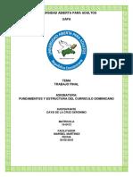 Trabajo Final Fundamento Del Curriculo Dominicano.pdf