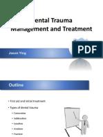 Dental Trauma Management
