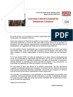 Comunicado 4 CCOO - CONVENIO DE INDUSTRIAS CÁRNICAS